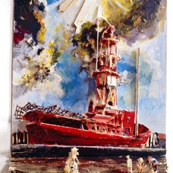 The Lightship Hythe 1991